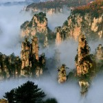 Tianzi(Son of Heaven) Mountains, China