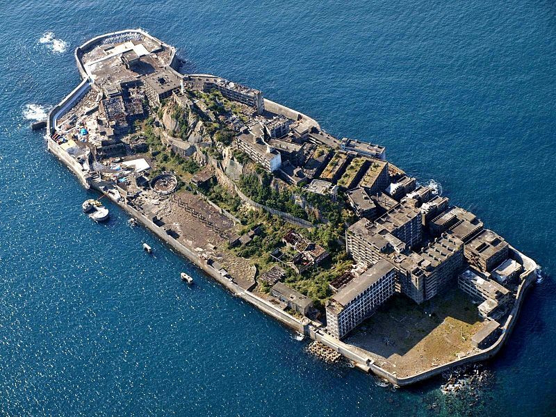 Ghost Island of Hashima