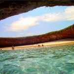 Marieta Island Hidden Beach