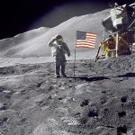 The US Moon landing conspiracy theories