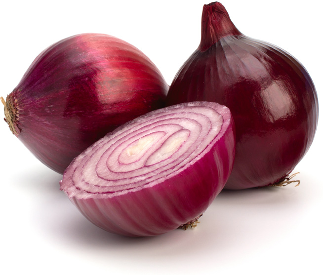 Colors of onions - Red Onions