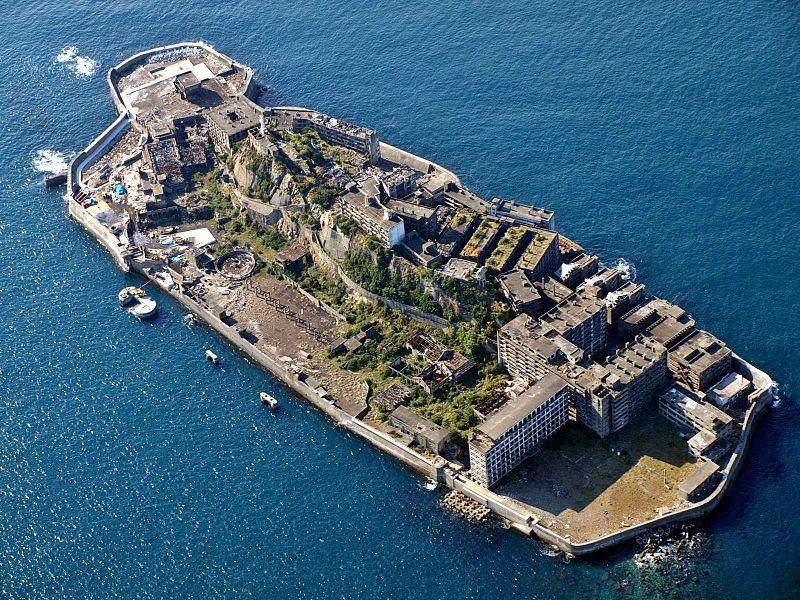 Ghost Island of Hashima